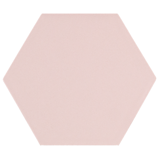 Kromatika Hexagon Rosa Pink Porcelain Wall & Floor Tile