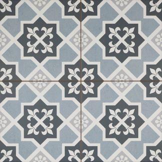 Lester Blue Floor Tiles