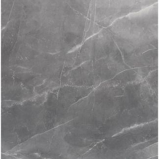 Marmy Grey Polished Marble Effect Porcelain Floor Tile
