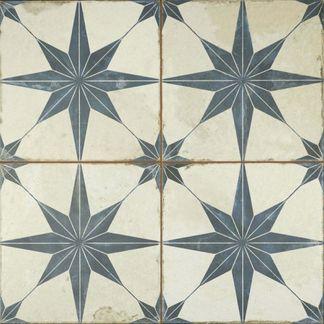 Metropolis Star Indigo Wall and Floor Tiles