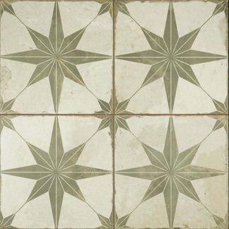 Metropolis Star Laurel Wall and Floor Tiles