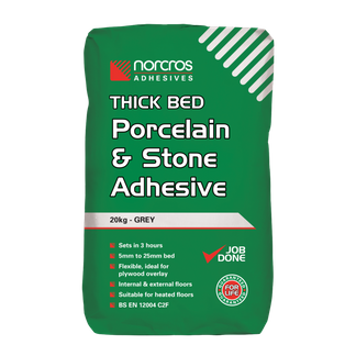 Norcros Thick Bed Porcelain and Stone Adhesive