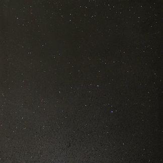 Quartz Stone Midnight Black Wall and Floor Tile