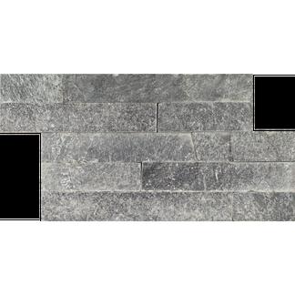 Silver Grey Split Face Mosaic