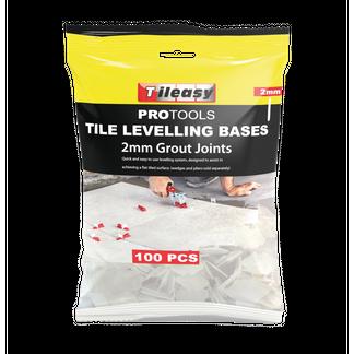 2mm Tile Wedge Levelling Base - 100 per pack