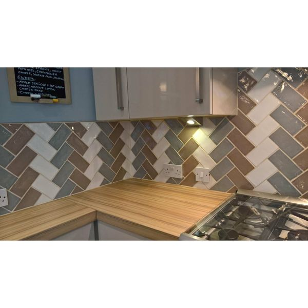 Craquele Dove Wall Tiles