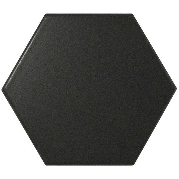 Hexagon Black Wall Tile