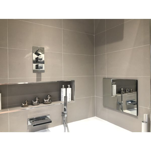 Doblo Matt Light Grey Porcelain Wall and Floor Tile