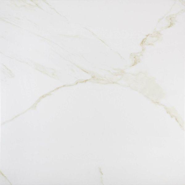 Carrara Gold Matt Marble Effect Porcelain Floor Tile