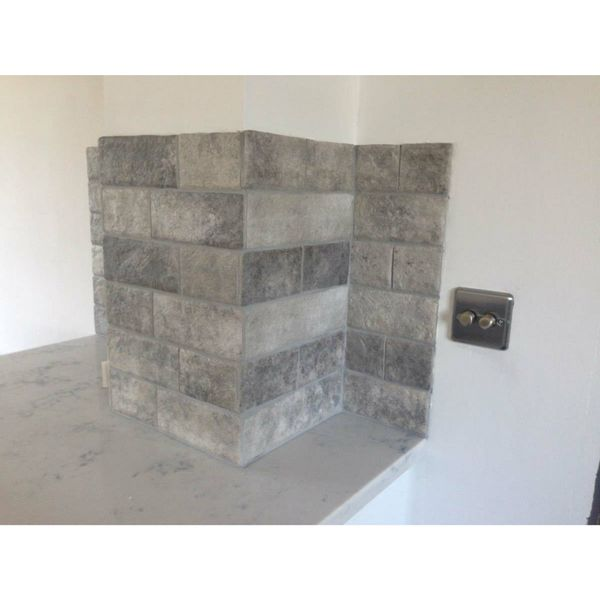 Muralla Grey Brick Wall Tiles