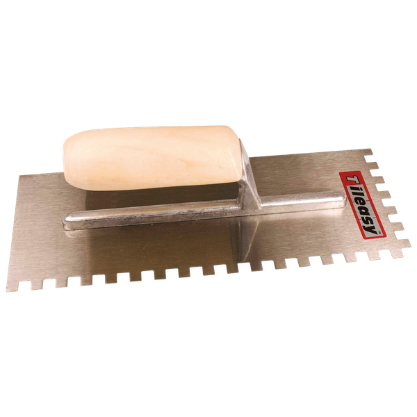 6mm Professional Square Notched Wall Trowel