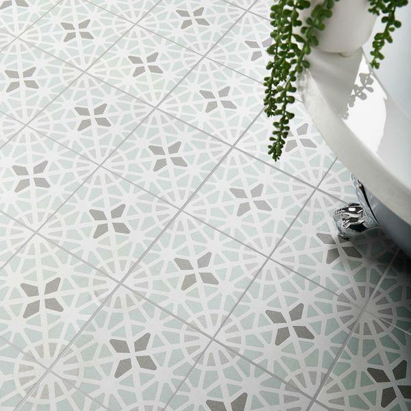 Adele Green Sea Floor Tile