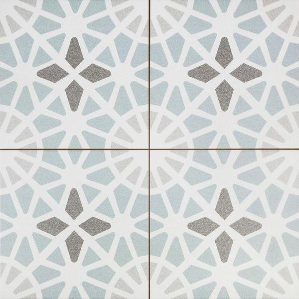 Adele Light Blue Floor Tile
