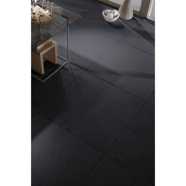 Concrete Dark Grey Matt Floor Tiles