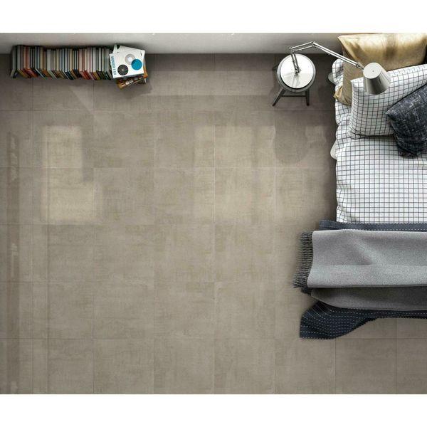 Coast Taupe Gloss Floor Tile