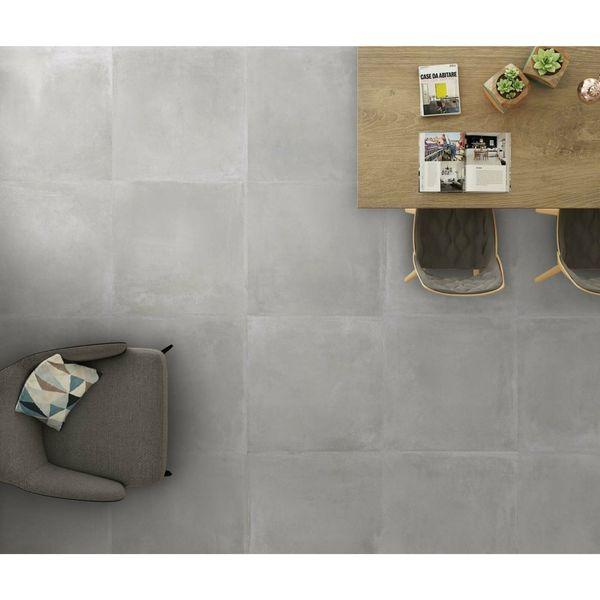 Maddox Grey Porcelain Floor Tile