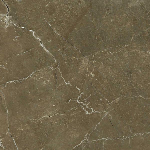 Anubis Dark Brown Gloss Marble Effect Floor Tile