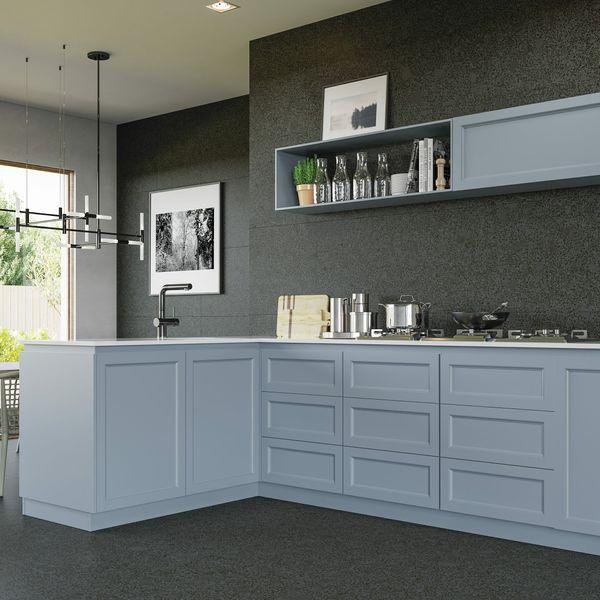 Trend Black Terrazo Wall and Floor Tile