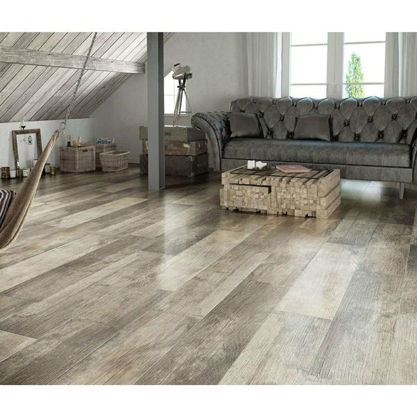 Driftwood Beige Wood Effect Wall And Floor Tiles