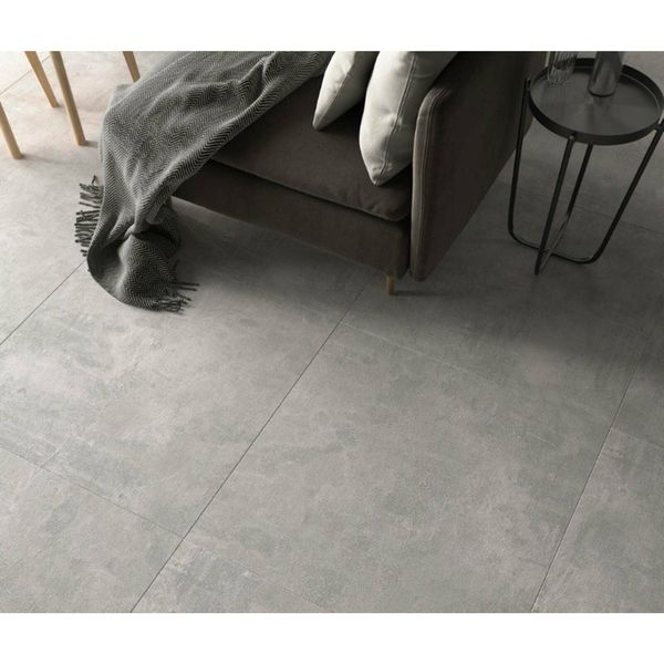 Ares Grey Cement Effect Porcelain Floor Tile