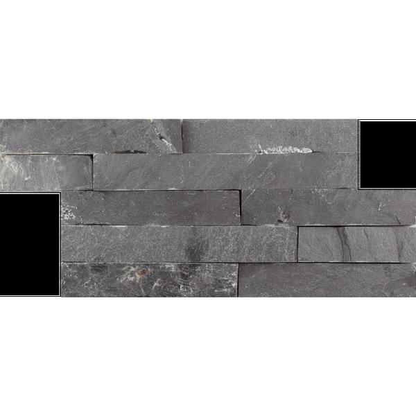 Black Slate Split Face Mosaic