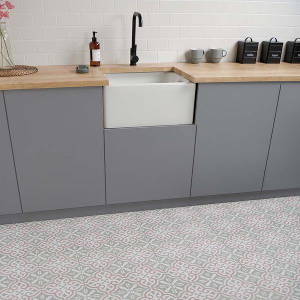 Briana Rose Floor Tiles