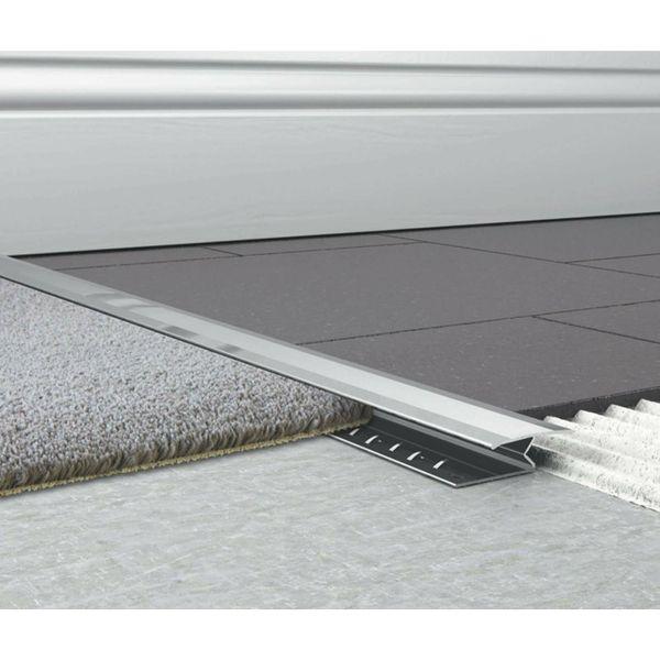 1000mm Chrome Effect Doorway Trim