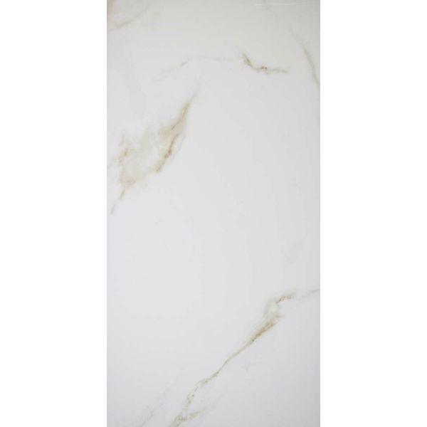 Carrara Gold Gloss Marble Effect Porcelain Wall & Floor Tile