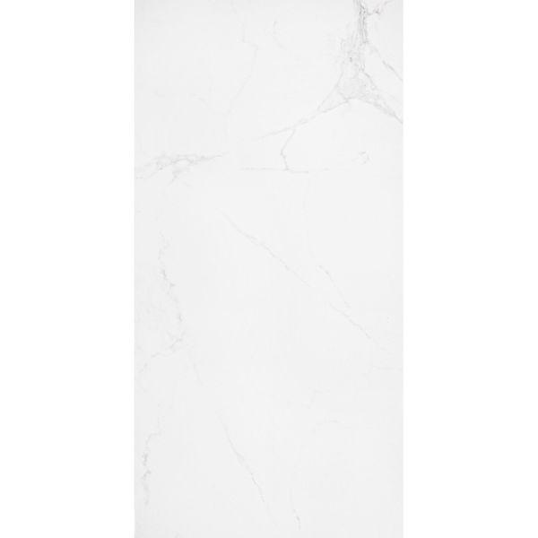Carrara White Polished Marble Porcelain Floor Tile