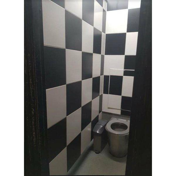 Chess Black Floor Tiles