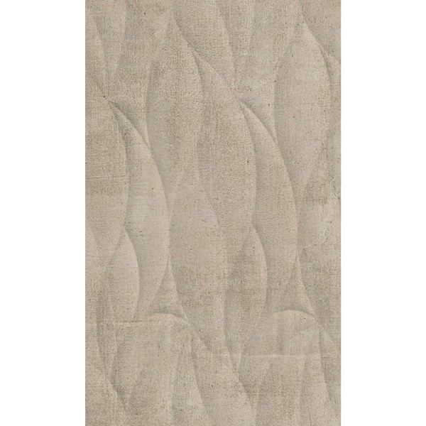 Coast Ondas Taupe Gloss Wave Feature Wall Tile