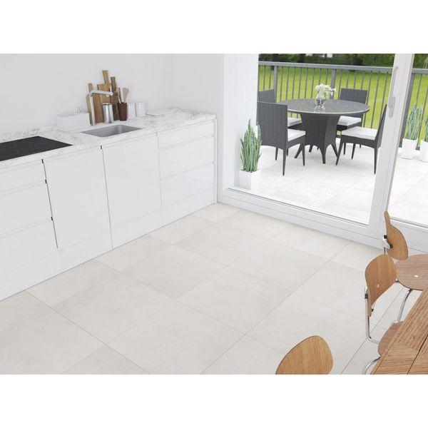Concretia White Outdoor Slab Tiles