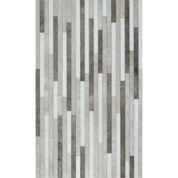 Lyric Relieve Grey Split Face Effect Wall Tile