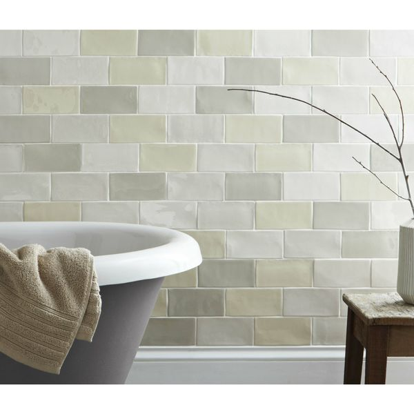 Craquele White Wall Tiles