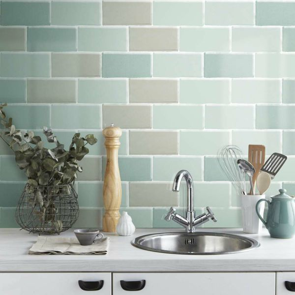 Craquele Olive Wall Tiles