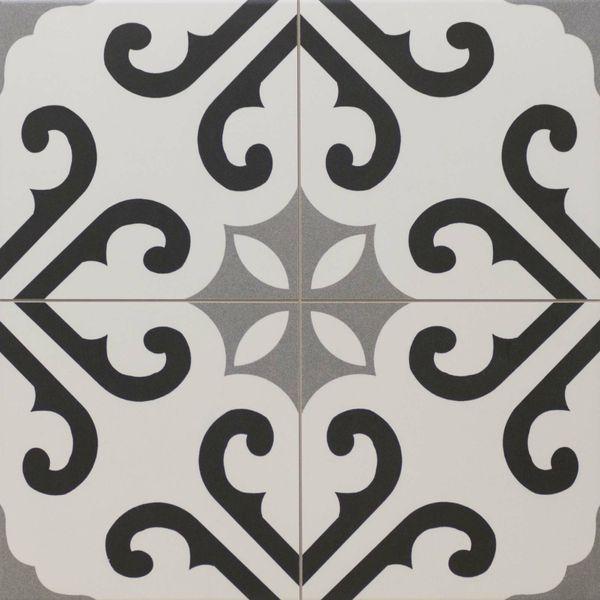 Derby Pattern Porcelain Floor Tiles