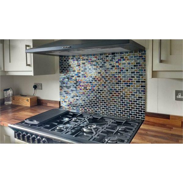 Diesel Brick Glass Mosaic