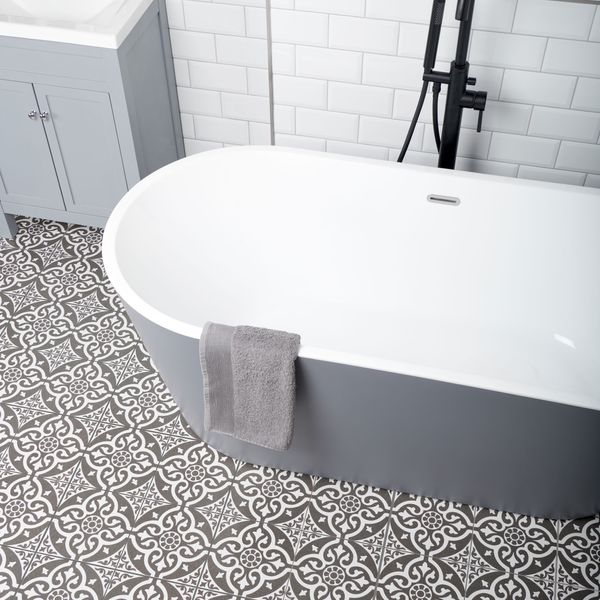 Dorset Feature Black Wall and Floor Tiles