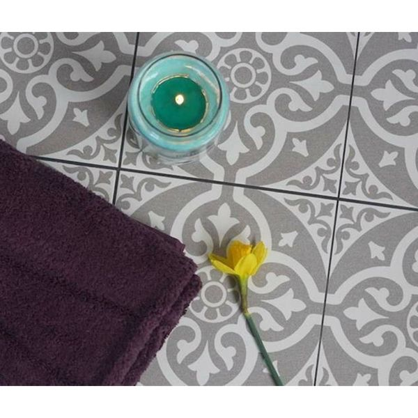 Dorset Feature Grey Wall and Floor Tiles