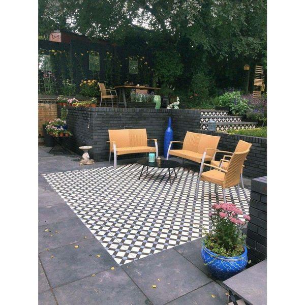 Exeter Pattern Porcelain Floor Tiles