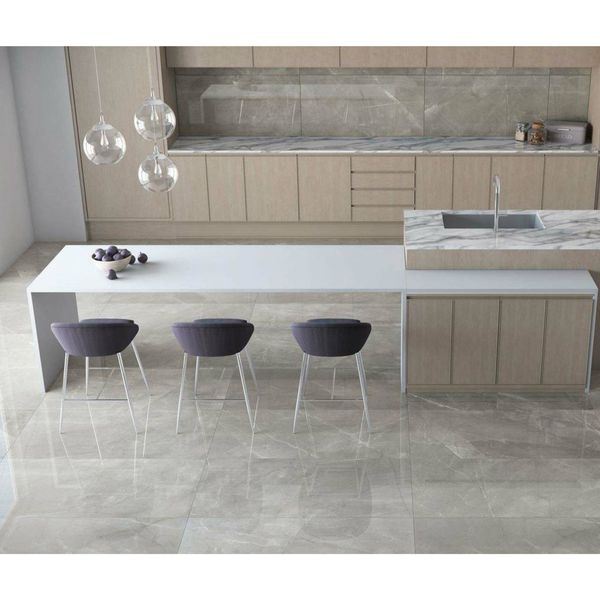 Pulpis Grey Stone Effect Wall and Floor Tiles