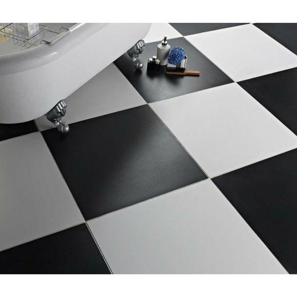 Matt Extreme White Porcelain Floor Tiles