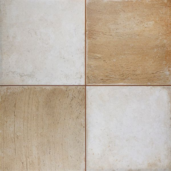 Clay Chequer Sand Floor Tile