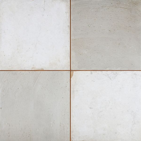 Clay Chequer Silver Floor Tile