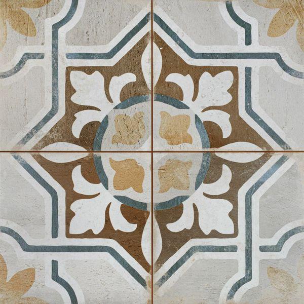 Clay Seal Floor Tile