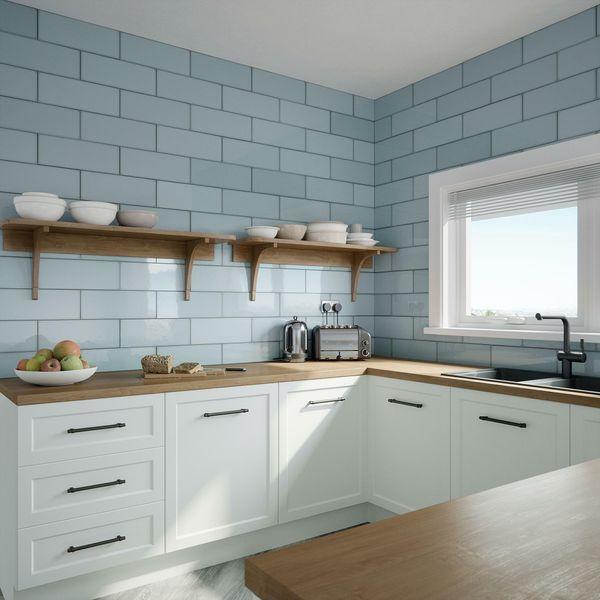 Fulham Aqua Wall Tile