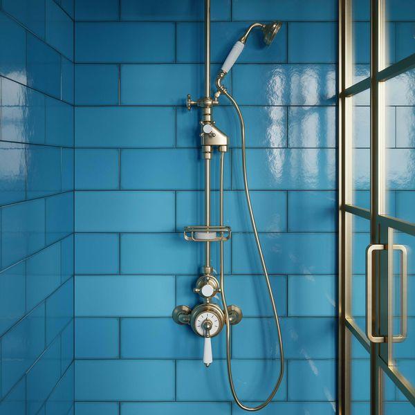 Fulham Blue Wall Tile