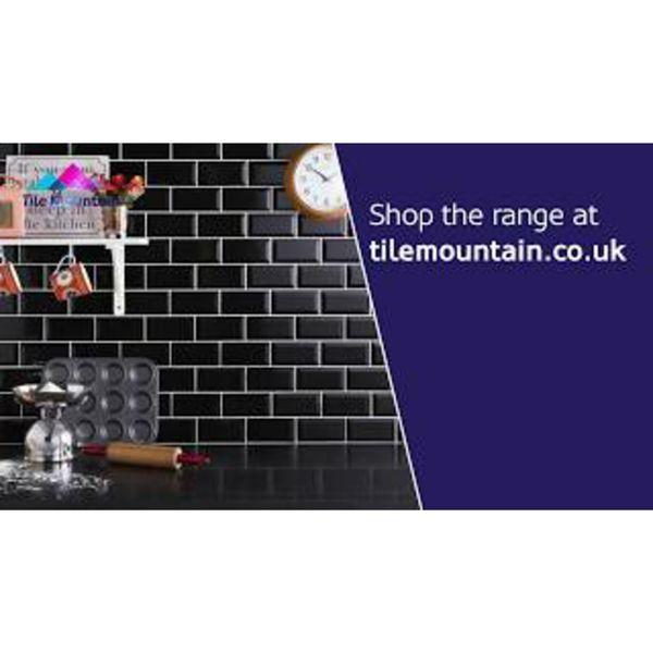 Mini Metro Black Wall Tiles