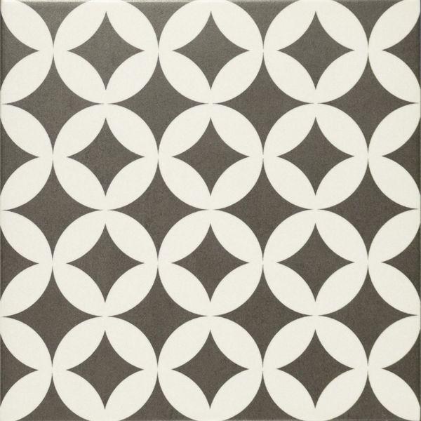Gatsby Black & White Wall and Floor Tiles