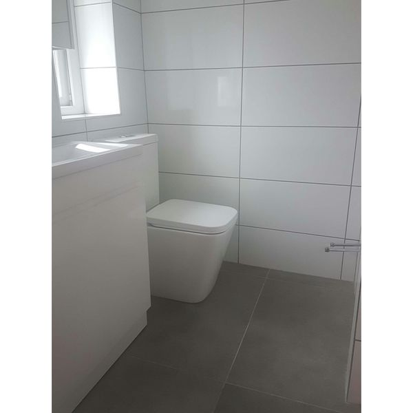 Glossy Flat White Wall Tiles